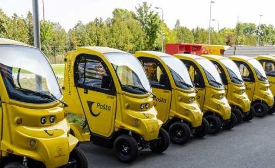 Nova vozila u Hrvatskoj pošti