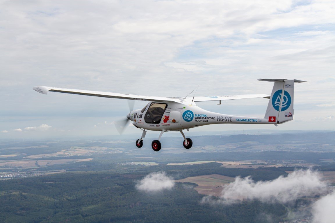 Slovenski električni zrakoplov u tri dana srušio sedam svjetskih rekorda