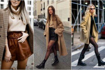 Kratke hlače zimi: 30 načina kombiniranja u toploj odjeći